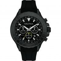 Mens Nautica NST1000 Chronograph Watch NAD20015G
