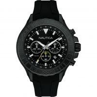 Herren Nautica NST1000 Chronograph Watch NAD20015G