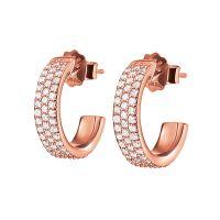 femme Folli Follie Jewellery Sterling Silver Essentials Sparkle Mini Hoop Earrings Watch 5040.3097
