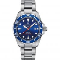 Herren Certina DS Action Diver Powermatic 80 Watch C0324071104100