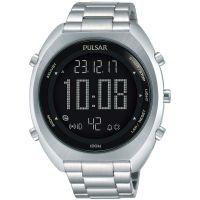 homme Pulsar Alarm Chronograph Watch P5A015X1