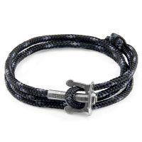 Anchor & Crew Black Union Bracelet JEWEL AC.SI.UN15