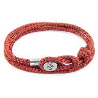 Anchor & Crew Red Noir Dundee Bracelet JEWEL AC.DO.DU13
