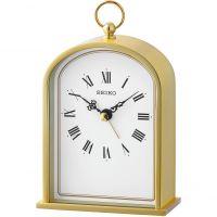 horloge Seiko Clocks Mantel Alarm Clock QHE162G