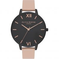 Ladies Olivia Burton After Dark Nude Peach & IP Black Watch