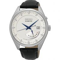 Mens Seiko Kinetic Retrograde Kinetic Watch