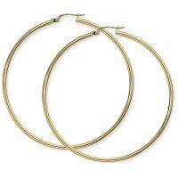 Jewellery Plain hoop earrings Watch E928