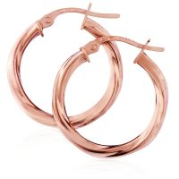 Jewellery Twisted Hoop Earrings JEWEL ER892