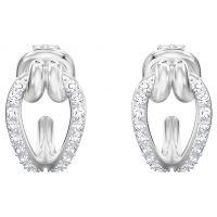 femme Swarovski Jewellery Lifelong Small Hoop Earrings Watch 5390814
