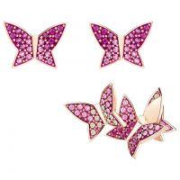 Swarovski Jewellery Lilia Butterfly Stud Earrings Set JEWEL 5378694