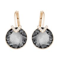 Ladies Swarovski Rose Gold Plated Bella Earrings 5353202