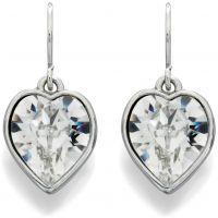 Fiorelli Jewellery Crystal Heart Earrings JEWEL XE4839