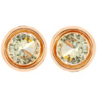 Ladies Fiorelli Rose Gold Plated Stud Earrings