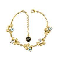 Karl Lagerfeld Jewellery Pyramid Cluster Station Bracelet JEWEL 5420719