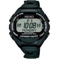 Unisex Seiko Superrunner Solar Alarm Chronograph Watch