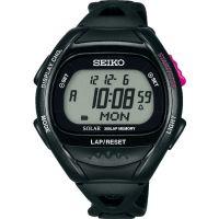 Herren Seiko Alarm Chronograph Watch SBEF001J