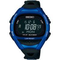 Herren Seiko Alarm Chronograph Watch SBEF029J