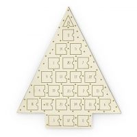 femme Johnny Loves Rosie Jewellery Gold Star Jewellery Advent Calendar Watch JLRCAL2