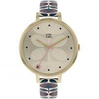 Damen Orla Kiely Ivy Mesh Watch OK2190