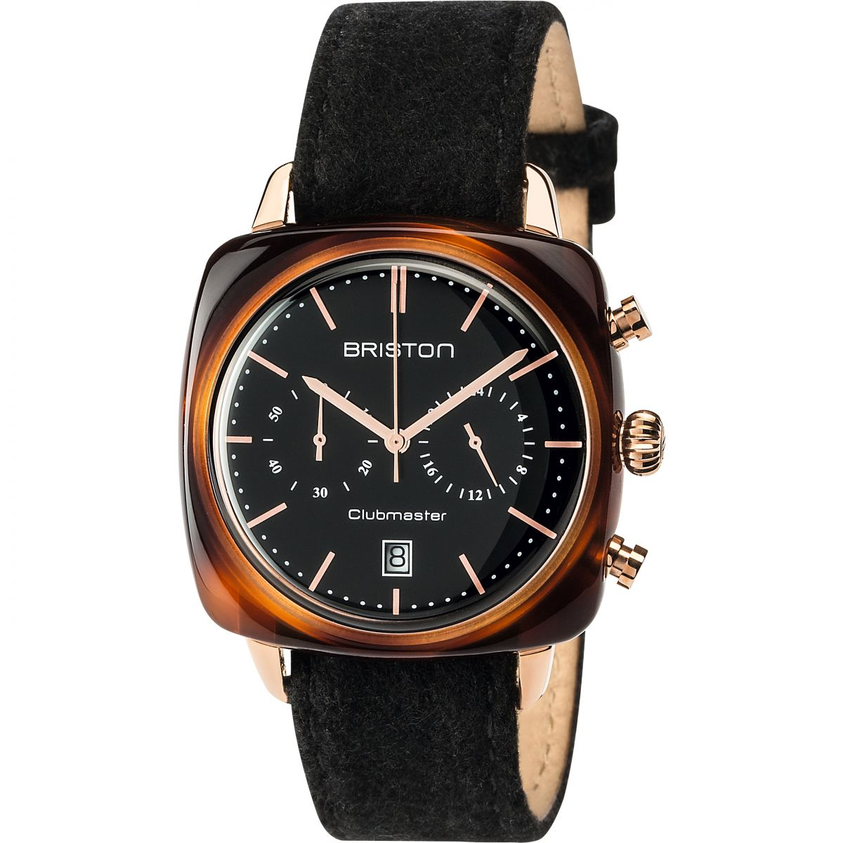 unisexe briston clubmaster vintage actate chronographe montre 17140 pra tv 1 lfb. Black Bedroom Furniture Sets. Home Design Ideas