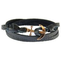Icon Brand Jewellery Anchor Bracelet JEWEL LE1281-BR-NVY