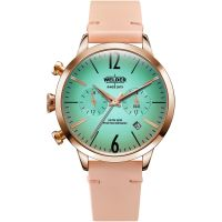 Welder The Moody 38mm Dual Time Unisexklocka Rosa K55/WWRC100
