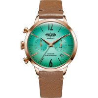Unisex Welder The Moody 38mm Dual Time Watch K55/WWRC112