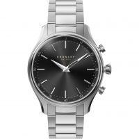 Unisex Kronaby Sekel 38 Bluetooth Hybrid Alarm Watch A1000-2750