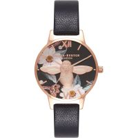 Ladies Olivia Burton Bejewelled Florals Watch