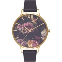 Damen Olivia Burton Dark Bouquet Watch OB16EG78