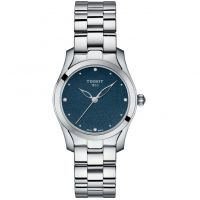 Ladies Tissot T-Wave Diamond Watch T1122101104600