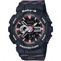 Damen Casio Baby G Chance Alarm Chronograph Watch BA-110CH-1AER