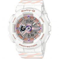 Damen Casio Baby G Chance Alarm Chronograph Watch BA-110CH-7AER