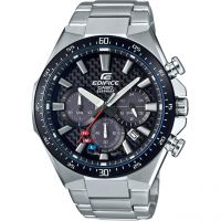 Herren Casio Edifice Carbon Dial Watch EFS-S520CDB-1AUEF