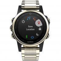 Herren Garmin Fenix 5S Sapphire Bluetooth Alarm Watch 010-01685-15