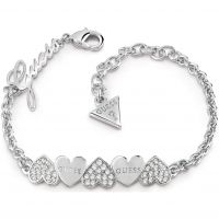 Guess Jewellery Heart Bouquet Bracelet JEWEL UBB85101-L
