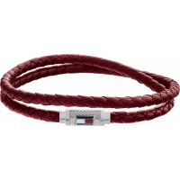 Tommy Hilfiger Jewellery Iconic Braided Leather Double Bracelet JEWEL 2790010