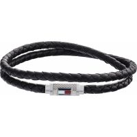 Tommy Hilfiger Jewellery Iconic Braided Leather Double Bracelet JEWEL 2790011