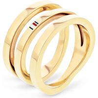 Tommy Hilfiger Jewellery Cross Over Ring JEWEL 2701100C