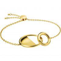 femme Calvin Klein Jewellery Locked Bracelet Watch KJ8GJB100100