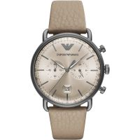 Herren Emporio Armani Aviator Watch AR11107