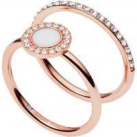 Fossil Jewellery Ring Size K JEWEL JF02666791503