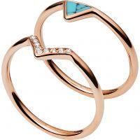 Fossil Jewellery Ring Size M.5 JEWEL JF02645791505