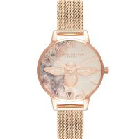 Damen Olivia Burton Watercolour Florals Watch OB16PP40