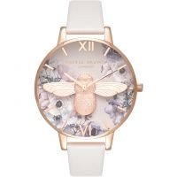 Damen Olivia Burton Watercolour Florals Watch OB16PP41