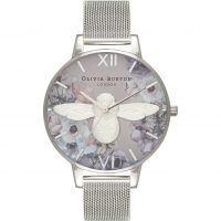Damen Olivia Burton Watercolour Florals Watch OB16PP42