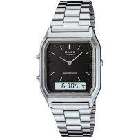 Herren Casio Classic Alarm Chronograph Watch AQ-230A-1DMQYES