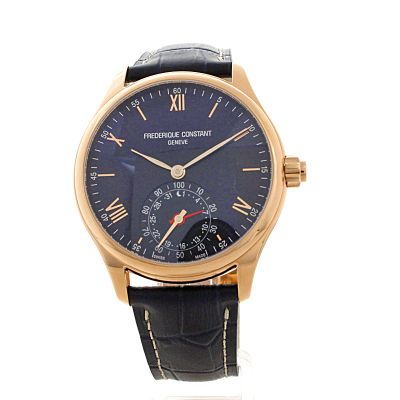 hommes frederique constant horological smartwatch bluetooth hybride montre fc 285n5b4. Black Bedroom Furniture Sets. Home Design Ideas