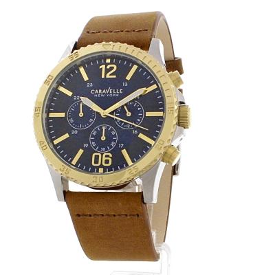 a0248e2537dc Herren Caravelle neu York Chronograf Uhren (45A135)