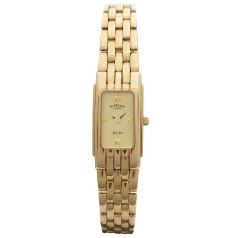 Ladies Rotary 9ct Gold Watch LB11120/09